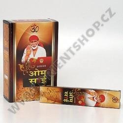 Indické vonné tyčinky Shabnums Om Sai