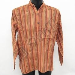 Košile kurta Roman L oranžová
