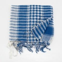 Šátek palestina arafat bílo modrá