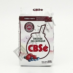 Čaj Yerba Mate CBSé Lesní plody 500 g
