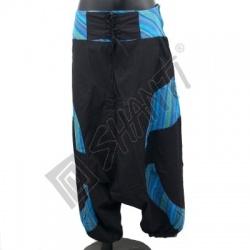 Kalhoty Joy 03 M tyrkysovočerná