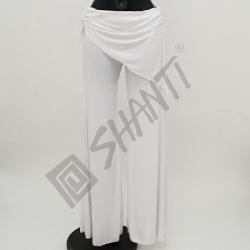 Kalhoty na orientální tanec Kartek L Bílá