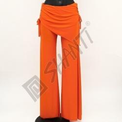 Kalhoty na orientální tanec Kartek L Oranžová