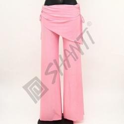 Kalhoty na orientální tanec Kartek L Růžová