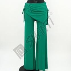 Kalhoty na orientální tanec Kartek L Zelená