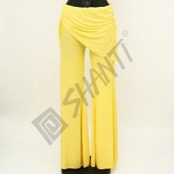 Kalhoty na orientální tanec Kartek L Žlutá