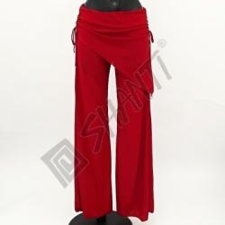 Kalhoty na orientální tanec Kartek M Červená