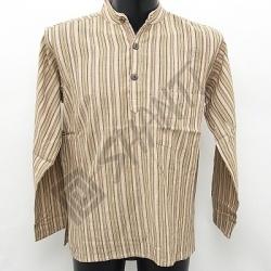 Košile kurta Roman M béžová