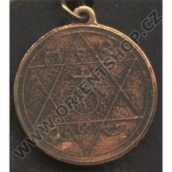 Amulet Symbol 12 Magický Otcův pentakl