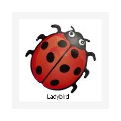 Fridge magnet Ladybird