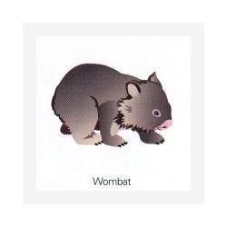 Fridge magnet Wombat