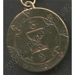 Amulet Symbol 06 Královnin pentakl