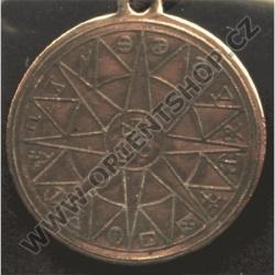 Amulet Symbol 17 Kabalistické kolo Venuše