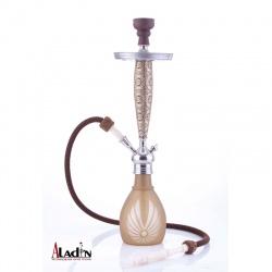 Vodní dýmka Aladin Bangkok 69 cm hnědá