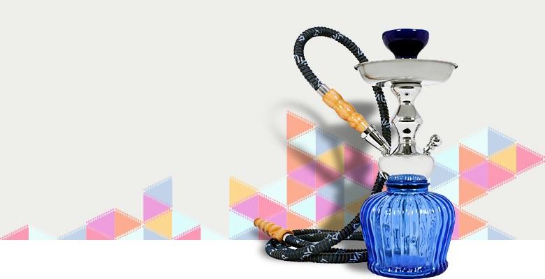 Vodní dýmky, tabáky a příslušenství