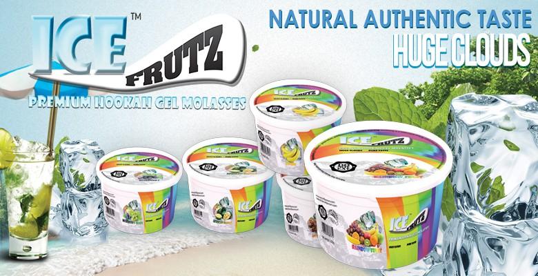 Vaporizační gel do vodní dýmky Ice Frutz
