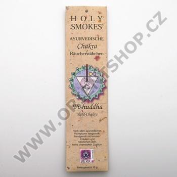 Čakrové tyčinky Holy Smokes Chakra 5 Vishudda