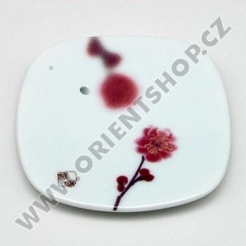 Stojánek na vonné tyčinky Yume-no-Yume Pink Plum Flower