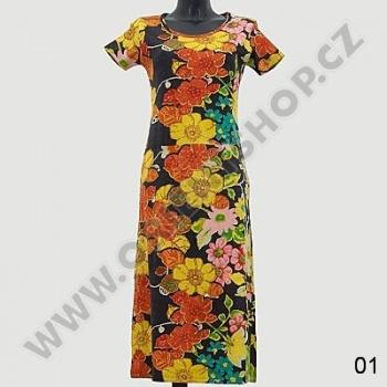 Šaty Jaipur s krátkým rukávem