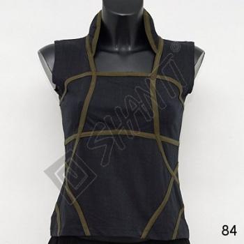 Tričko dámské Alena M černá khaki
