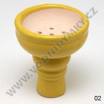 Korunka pro vodní dýmky Karnag žlutá
