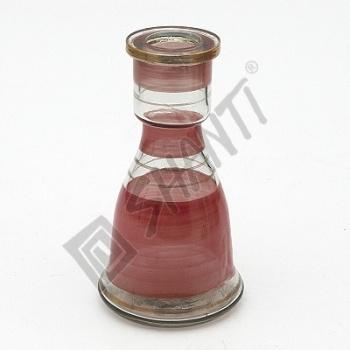 Váza pro vodní dýmky Top Mark Eset 19 cm červená