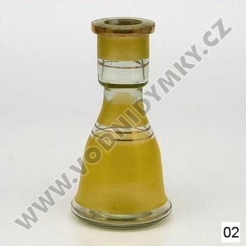 Váza pro vodní dýmky Top Mark Eset 19 cm žlutá