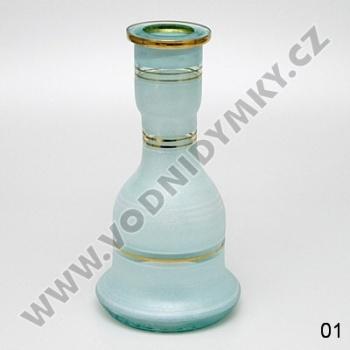 Váza pro vodní dýmky Top Mark Fateh 30 cm bílá