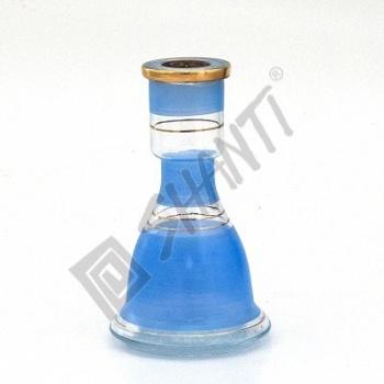 Váza pro vodní dýmky Top Mark Sokar 22 cm modrá