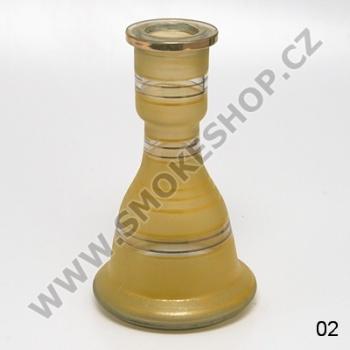 Váza pro vodní dýmky Top Mark Sokar 22 cm žlutá