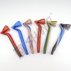 Skleněnka barevná Hokejky 10 cm