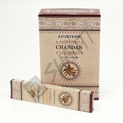 Indické vonné tyčinky Ayurvedic Chandan