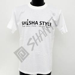 Tričko Shisha Style bílá L