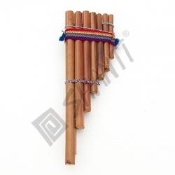 Panova flétna 8 hnědá