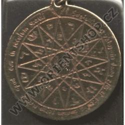 Amulet Symbol 07 Šalamounův pentakl moudrosti