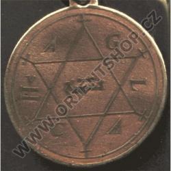 Amulet Symbol 14 Šalamounova hvězdice
