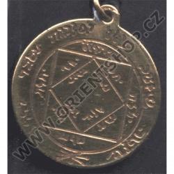 Amulet Symbol 30 Třetí sluneční pentakl