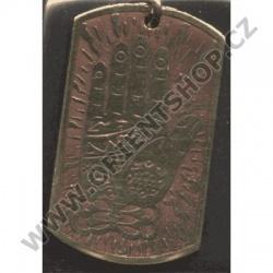 Amulet Symbol 37 Srdcová ruka Kršny