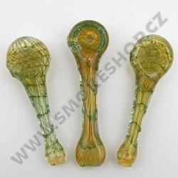 Šlukovka Pyrex Pavučina zelená