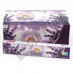 Indické vonné tyčinky Divine Lavender